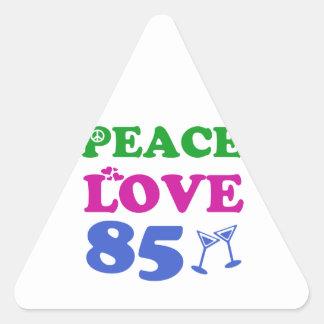 85th birthday designs sticker
