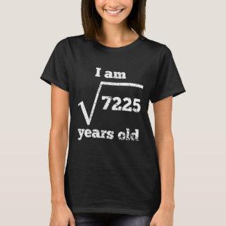 85th Birthday Square Root T-Shirt