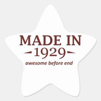 85th year birthday designs star stickers