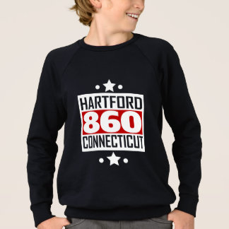 860 Hartford CT Area Code Sweatshirt