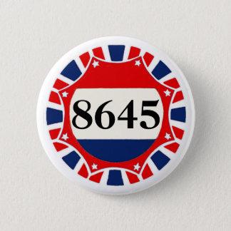8645 -- Anti-Trump 6 Cm Round Badge