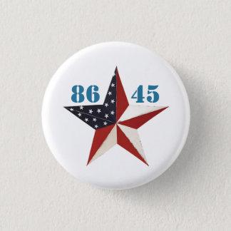 8645: Dump Trump 3 Cm Round Badge