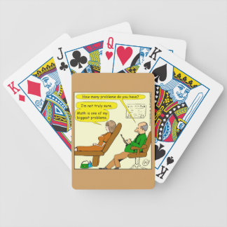 865 how many problems do you have - CARTOON Poker Deck