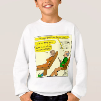 865 how many problems do you have - CARTOON Sweatshirt