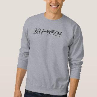 867-5309 Phone Number Sweatshirt