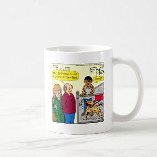 867 panic attack dog cartoon coffee mug