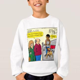 867 panic attack dog cartoon sweatshirt