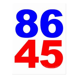 86 45 POSTCARD