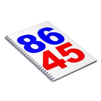 86 45 SPIRAL NOTEBOOK