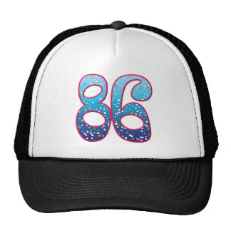 86 Age Rave Mesh Hats