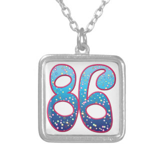 86 Age Rave Personalized Necklace