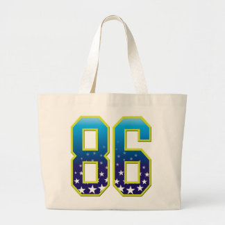 86 Age Star Canvas Bag