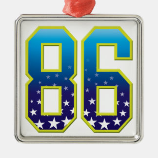 86 Age Star Christmas Tree Ornament