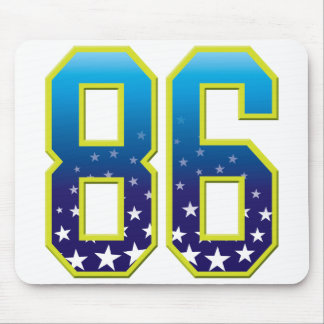86 Age Star Mousepad