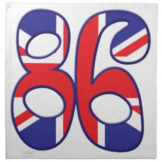 86 Age UK Cloth Napkin