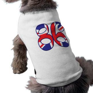 86 Age UK Sleeveless Dog Shirt