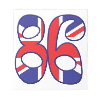 86 Age UK Memo Notepad