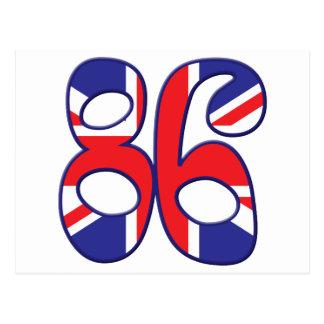 86 Age UK Postcard