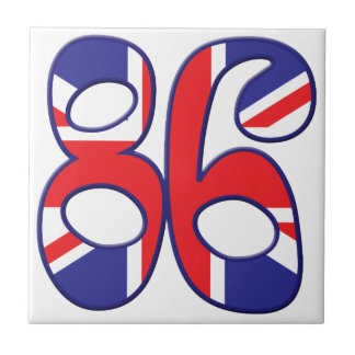 86 Age UK Small Square Tile