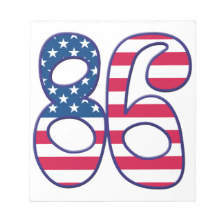 86 Age USA Note Pads