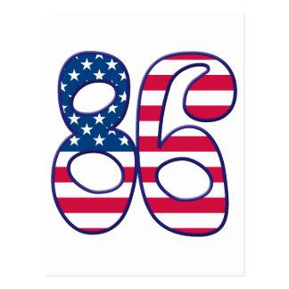 86 Age USA Postcard