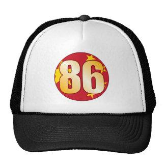 86 CHINA Gold Cap