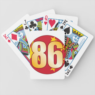86 CHINA Gold Playing Cards