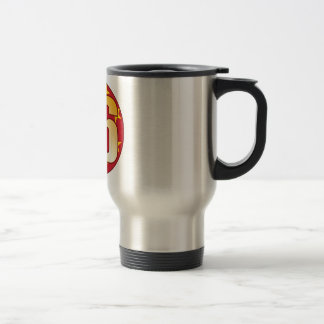 86 CHINA Gold Stainless Steel Travel Mug