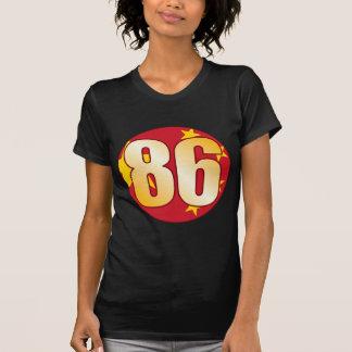 86 CHINA Gold Tshirts