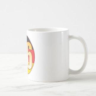 86 GERMANY Gold Basic White Mug