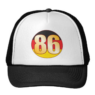 86 GERMANY Gold Cap
