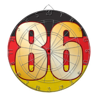 86 GERMANY Gold Dart Boards