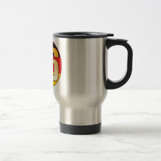 86 GERMANY Gold Stainless Steel Travel Mug
