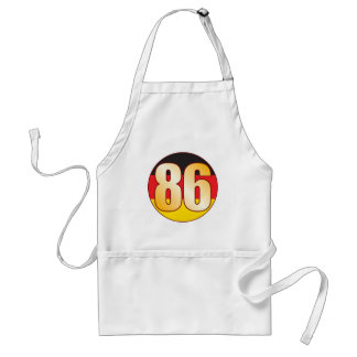 86 GERMANY Gold Standard Apron