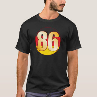 86 GERMANY Gold T-Shirt