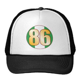 86 NIGERIA Gold Cap