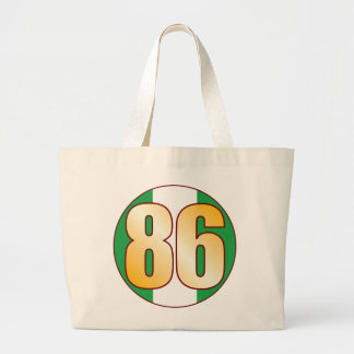 86 NIGERIA Gold Jumbo Tote Bag