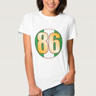 86 NIGERIA Gold Shirt