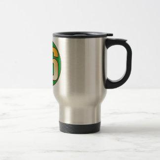 86 NIGERIA Gold Stainless Steel Travel Mug