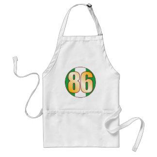86 NIGERIA Gold Standard Apron