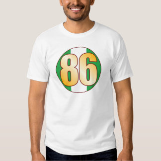 86 NIGERIA Gold Tees