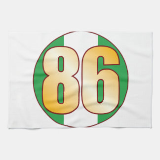 86 NIGERIA Gold Towel