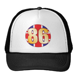 86 UK Gold Cap