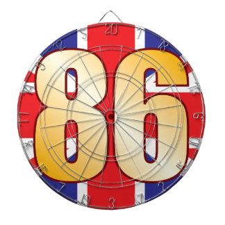 86 UK Gold Dart Boards