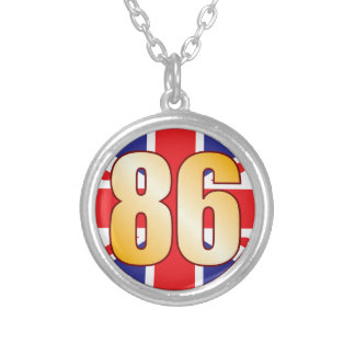 86 UK Gold Silver Plated Necklace