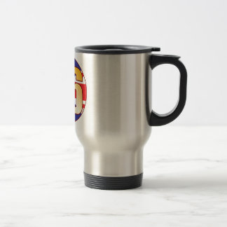86 UK Gold Stainless Steel Travel Mug