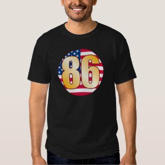 86 USA Gold Shirts