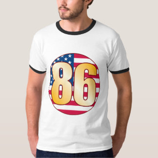 86 USA Gold Tees