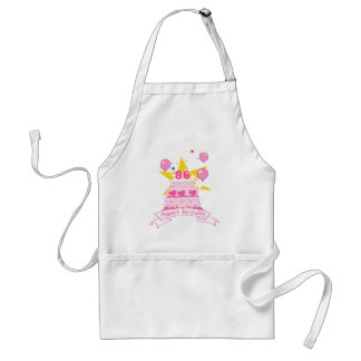 86 Year Old Birthday Cake Standard Apron