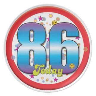 86th Birthday Today v2 Plates